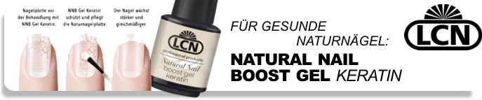 LCN Natural Nail boost Gel Keratin