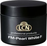 LCN FM-Pearl White F French Gel