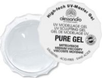 alessandro PURE high-tech UV-Mastergel, mittelviskos