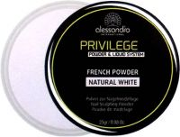 alessandro Privilege French Sculpting Powder natural white