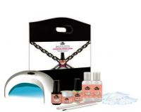 LCN Natural Nail Boost Gel Matt Set inkl. LED-UV-Gerät