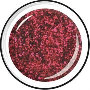 LCN Light Glitter Gel deep red
