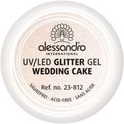 alessandro Glitter Gel Wedding Cake